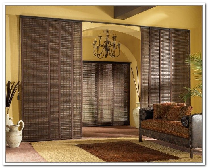 Sliding Panel Curtain Room Divider