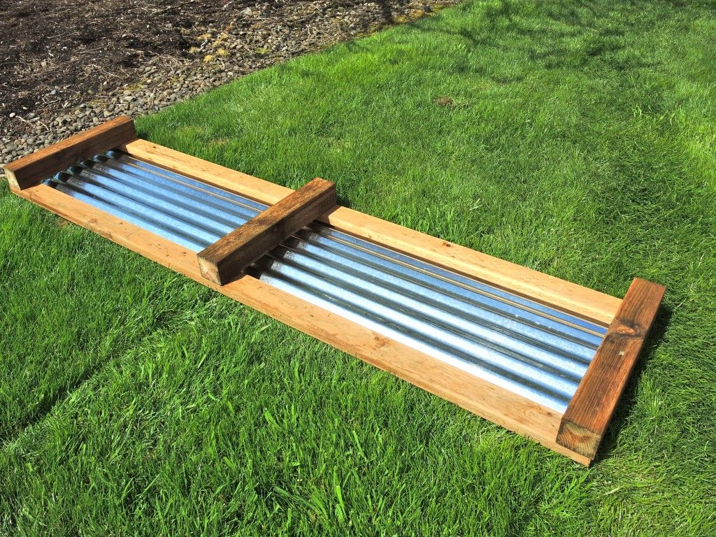Instructions For Making Raised Garden Beds Galvanized Raised Beds Side Of The Frame And The