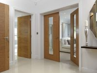 JB Kind's River Oak Tigris and Emral modern style doors