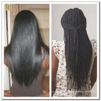 Box Braids Hair Growth Before And After | Stuff I Love ...