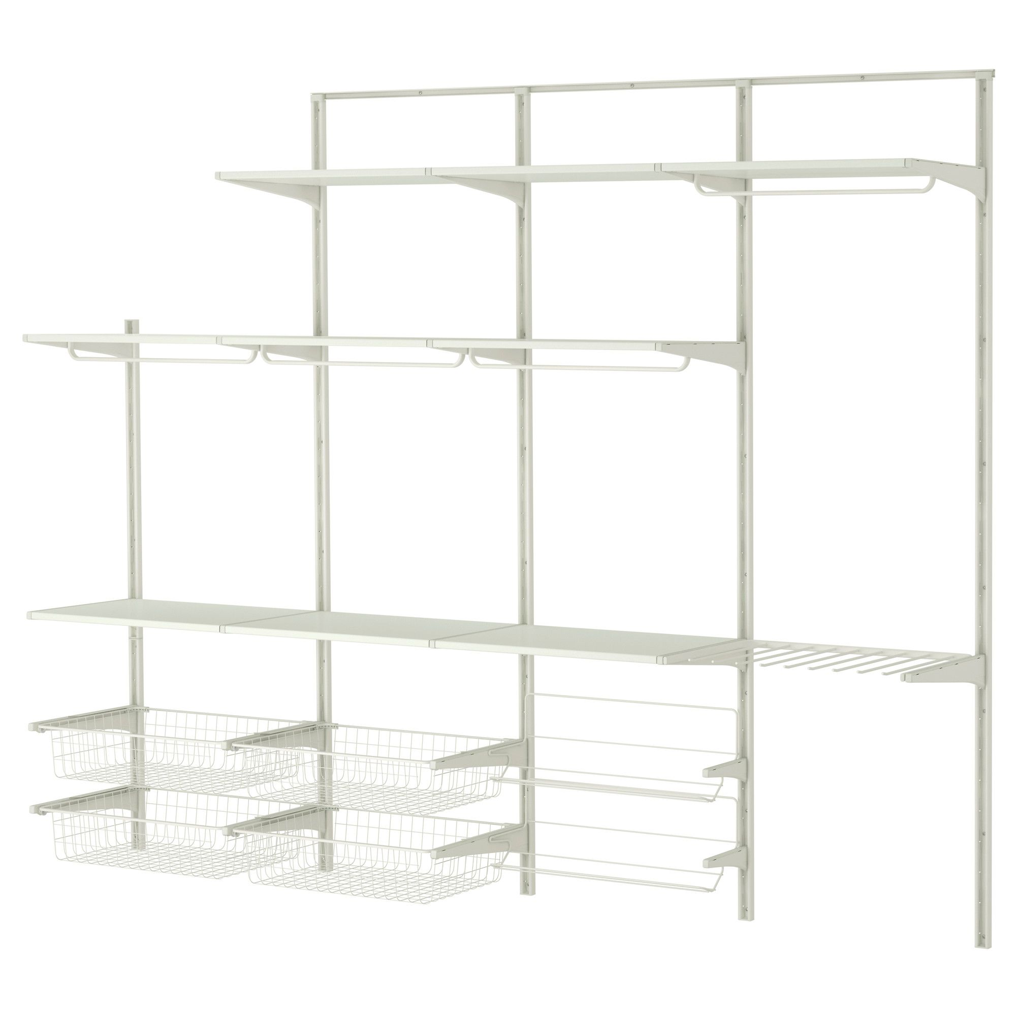 Ikea System Algot Wall Upright Rod Shoe Organizer Ikea Bedrooms