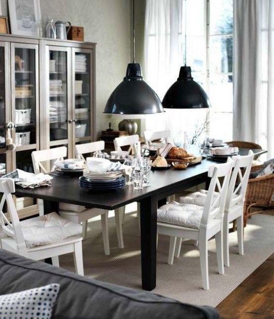 Originelle und moderne Esszimmer Design Ideen von IKEA Wohnen - esszimmer ikea