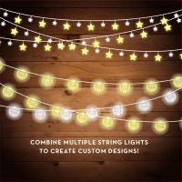 String Lights Clipart - Christmas Lights - Fairy Lights ...