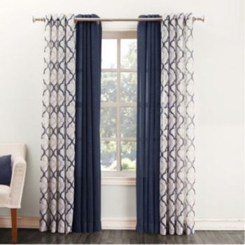 Master Bed Curtains (both panels) SONOMA life + style Ayden - living room curtains kohls