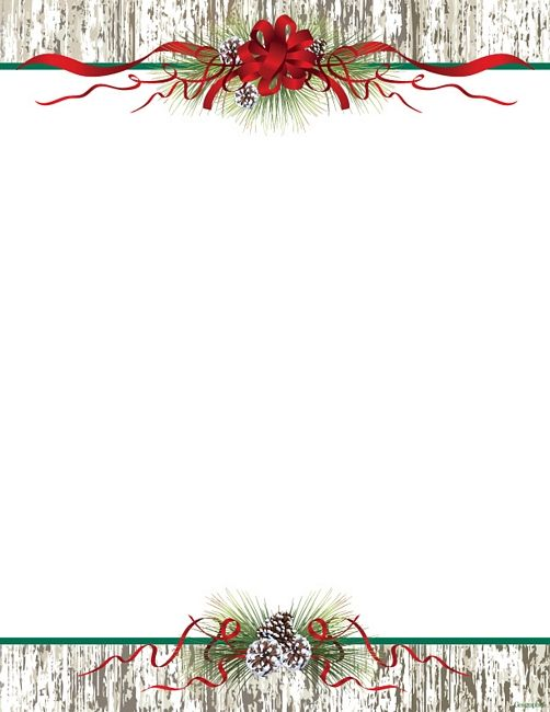 Free Christmas Letter Borders Geographics® Holly Ivy Border - free christmas word templates