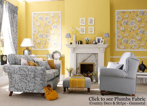 Yellow Walls. Yellow Decor Decorating With Yellow With Yellow