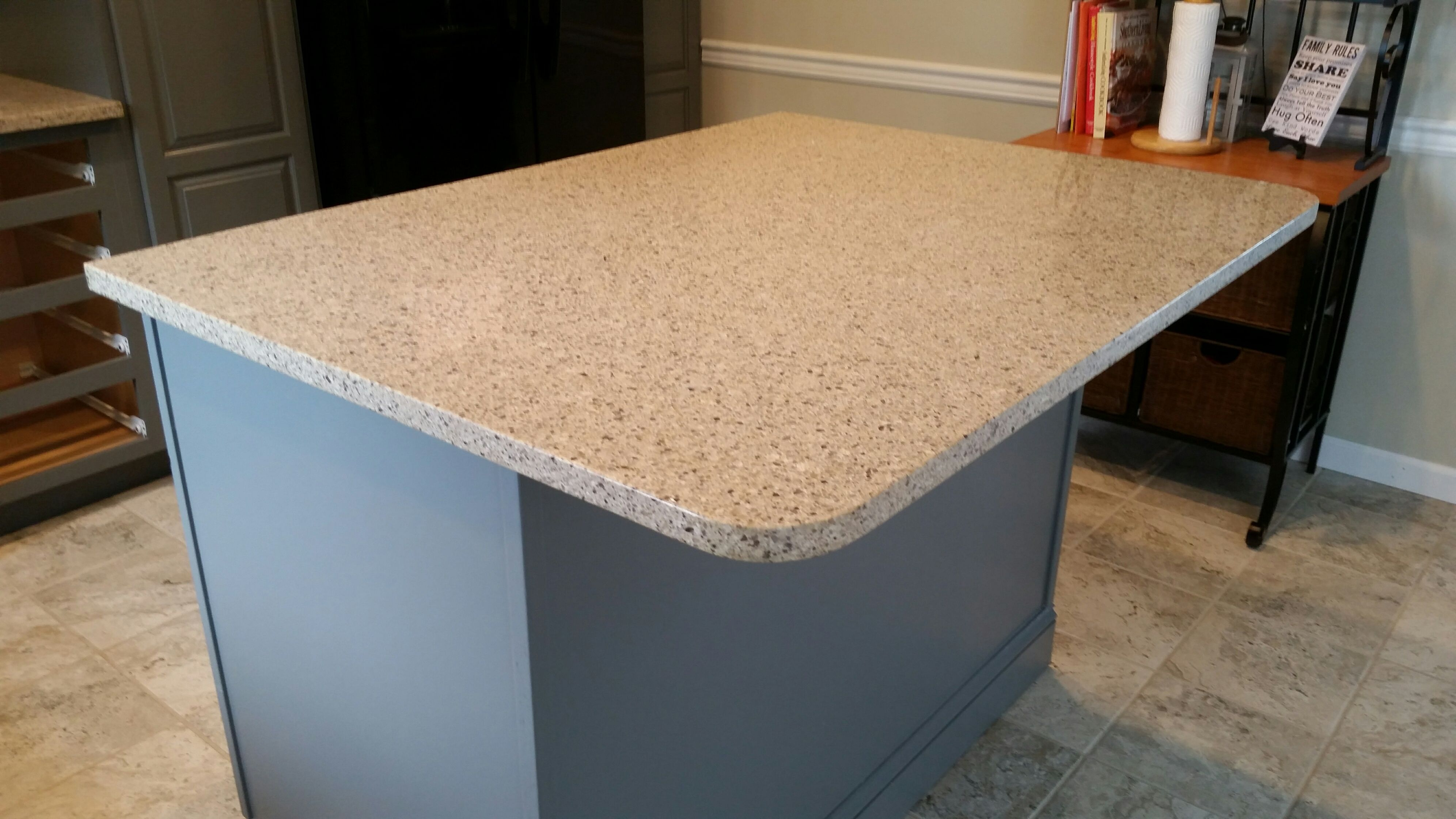 How Much Are Quartz Countertops Installed Silver Lake Lg Viatera Quartz Kitchen Countertop Install