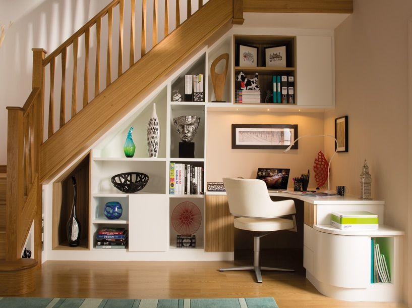Stylish Understairs Study u2013 Home Study Furniture u2013 Neville Johnson - under stairs kitchen storage