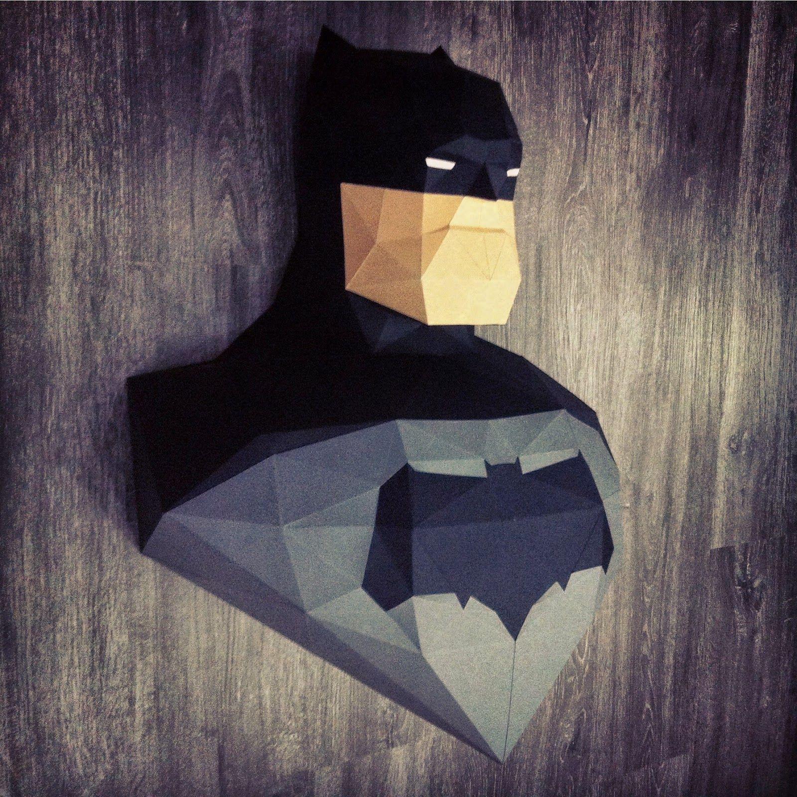 Why Do We Fall Bruce Wallpaper Sculpture Batman Dark Knight Returns En Papier Paper