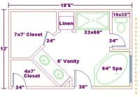 Water Closet Dimensions in Inches | Free Bathroom Plan ...