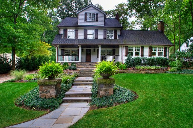 78+ Images About Ld: Front Yard On Pinterest | Modern Front Yard