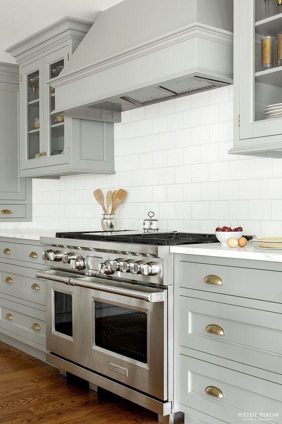 Covered Range Hood Ideas Kitchen Inspiration Light gray - kitchen hood ideas