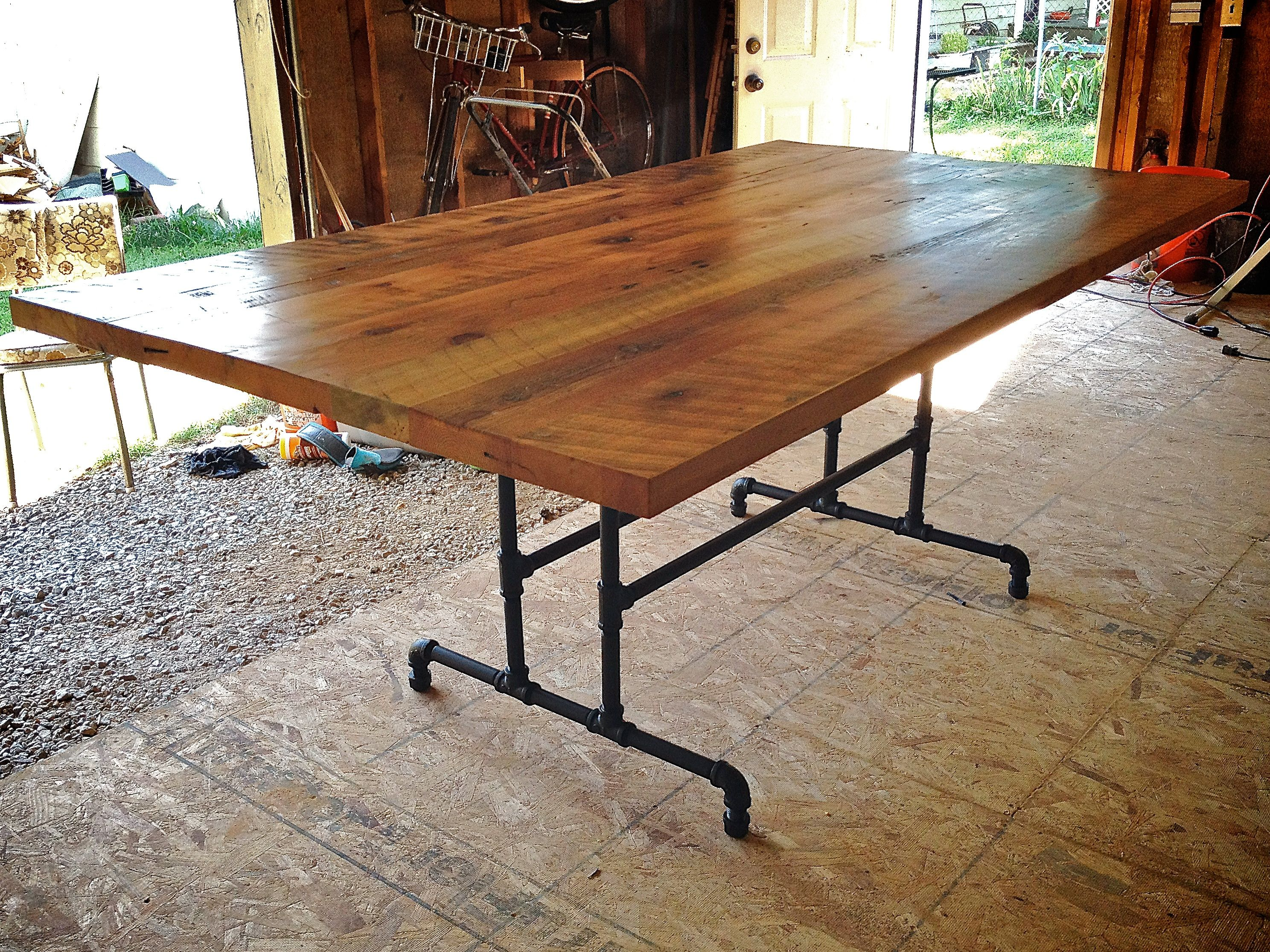 rustic kitchen table simple rustic farmhouse kitchen table with metal frame design