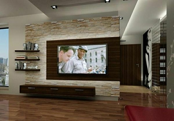 Wall panels stone look living room set living room wall design - wall design ideas for living room