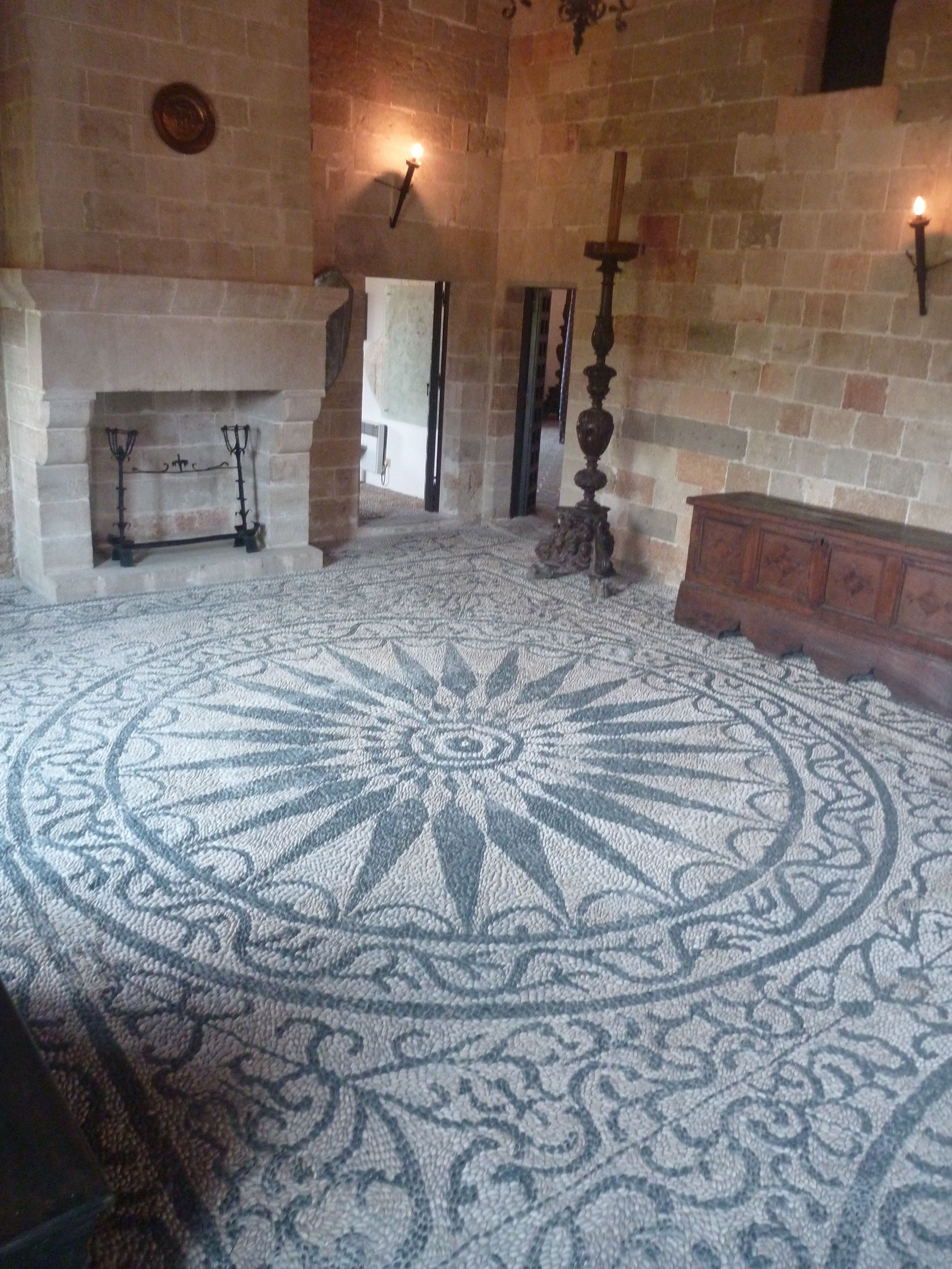 Fliesen Mosaik Selber Machen Schablone Pebble Mosaic Floor Talking About Dedication Truly