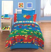 LEGO Bedding | LEGOS - Make and Create - Bedding Set ...