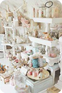 shabby chic craft room | Craft room inspiration, shabby ...