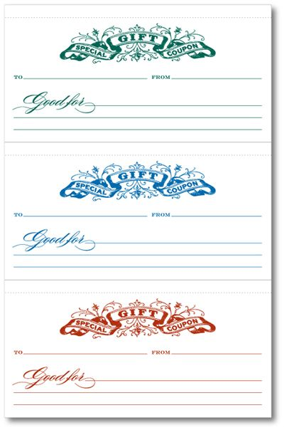 17 Best Ideas About Free Gift Certificate Template On Pinterest