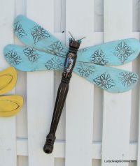 blue textured wing table leg dragonfly Made with fan ...