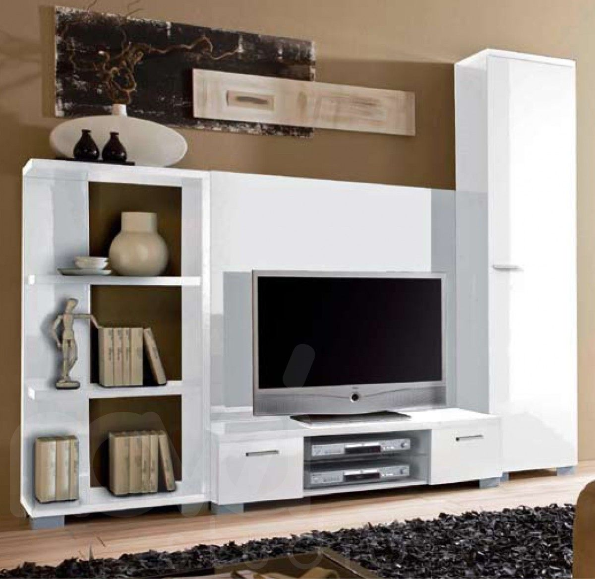 Wall Mounted Entertainment Unit Contemporary 43wall 43units Modern City Tv Unit Modular