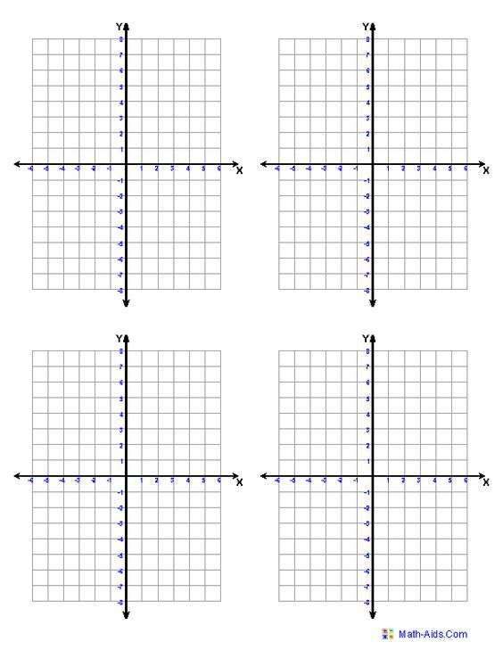 Graph Paper Printable Math Graph Paper (free printable - math graph paper