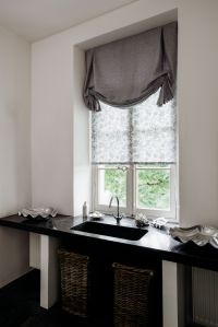 Try Tulip Roman Shades for a decorative touch in the ...