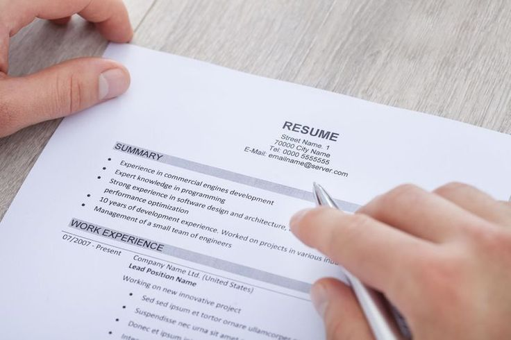 summary statement resume 27 best resume cv examples images on