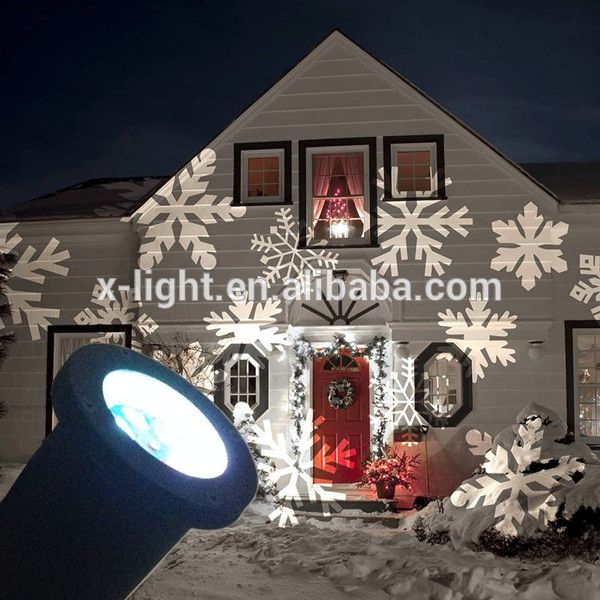 New Products Patent 10w Led Outdoor Projector Rotation Christmas - christmas decoration projector