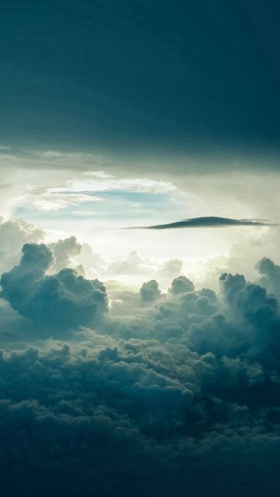 Sky Cloud Blue Nature Summer #iPhone #5s #wallpaper | iPhone SE Wallpapers | Pinterest | Iphone ...