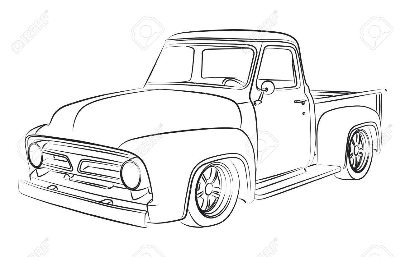 1967 ford truck lowered