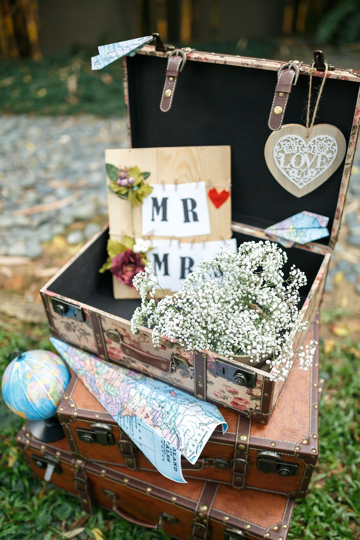 Travel Theme Ideas Matthew And Esthers Travel Themed Wedding At Gita Bayu