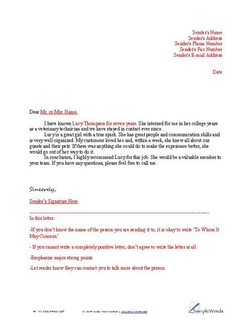 Sample Of Employment Reference Letter. Sample Employment Reference