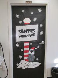Santa's Workshop Door Decoration! | Holiday Door ...