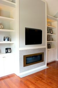White Living Room Wall Units