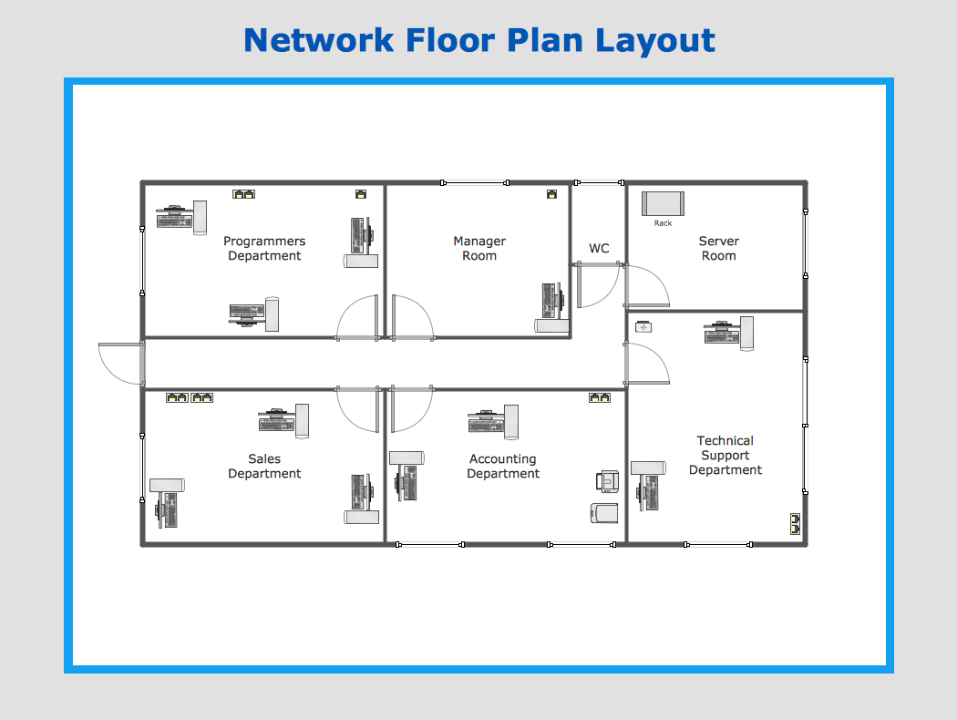 Galley Kitchen Design Plans Network Floor Plan Layout Conceptdraw Ideas Pinterest