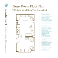 Typical Hotel Room Floor Plan | scope of work template ...