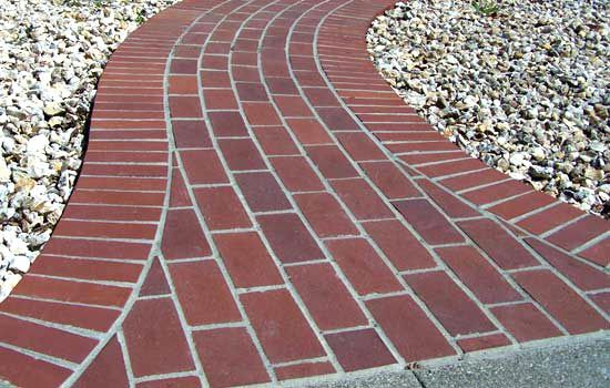 17+ Images About Brick Pathway On Pinterest   Walkways, Side Yards