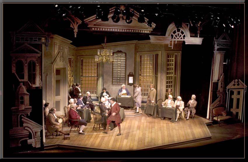 1776, Set Design by Richard Finkelstein, Stage Designer