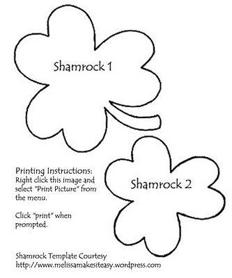 Shamrock Template guild nametags Pinterest Criação, Molde e - shamrock template