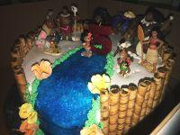 MOANA BIRTHDAY CAKE #disney #moana | Party Ideas ...