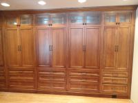 Classy Handmade Oak Built In Wardrobe Closet Unstained ...