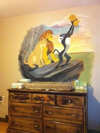 Lion king themed nursery | our home | Pinterest | Themed ...