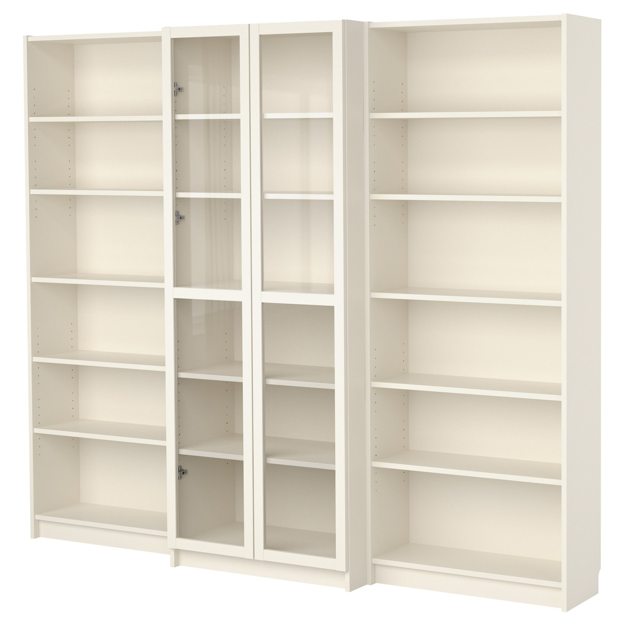 Ikea Billy Bookcase White Billy Bookcase Combination With Doors White Ikea