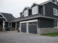 dark grey house exterior - Google Search | House exterior ...
