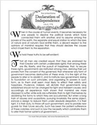 Great Preamble to the Declaration of Independence! Pin It ...
