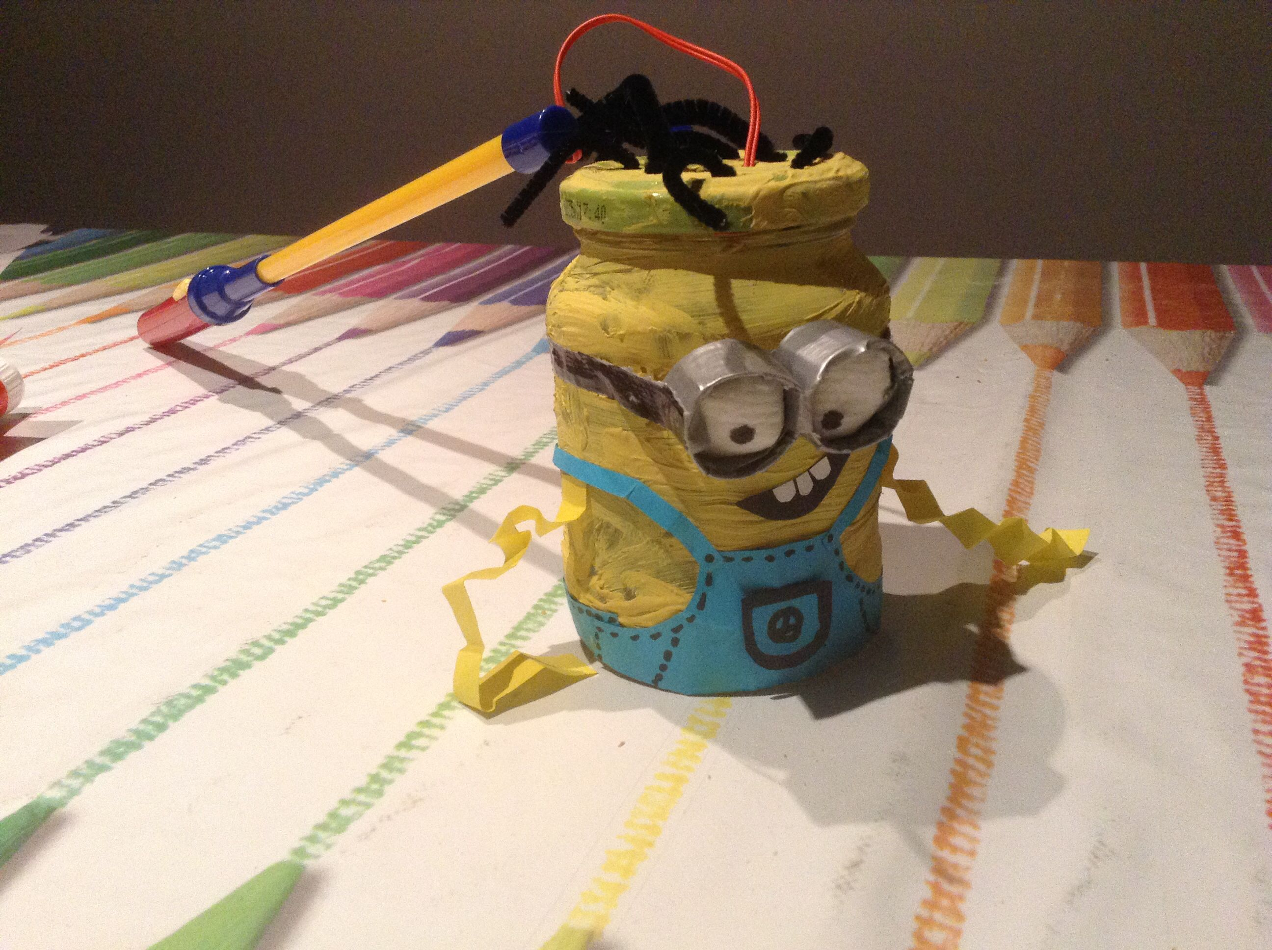 Leuke Lampionnen Minion Lampion Knutselen Lampion Pinterest Minions