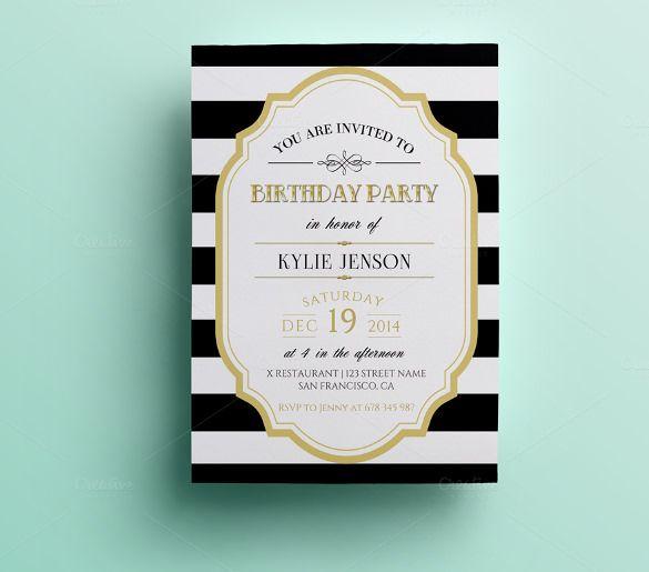 Birthday Invitation Templates Free Word Image Result For Th - Birthday invitation templates free word