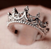 Princess Crown Ring  Royal Essentials | Rings | Pinterest ...