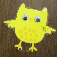 Cute little owl door decorations.   RA Decorations ...
