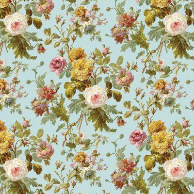 vintage floral pattern | Vintage Floral Wallpaper Pattern ...